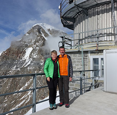 Von der Intensivstation KSGR zum Top of Europe – Teil 1
